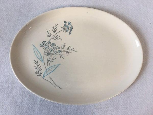 Vintage oval serving platter