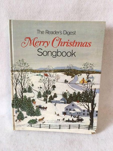 Reader's Digest Christmas songbook