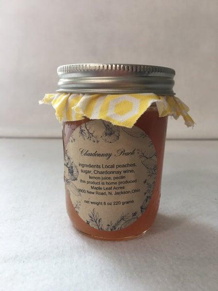 Chardonnay peach jam