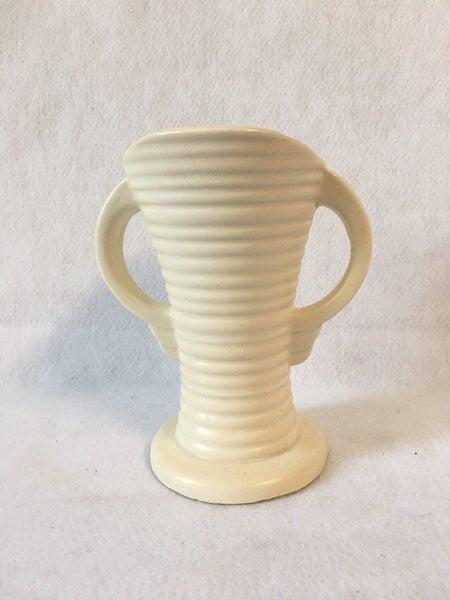 Ivory urn vase