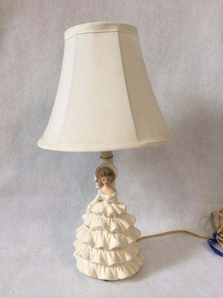 Vintage doll lamp