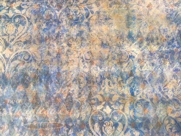 Decoupage Queen Blue tissue paper