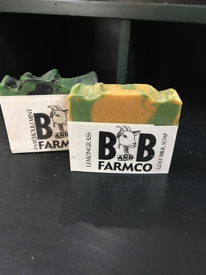 B & B Farm Goat Soap combo #2