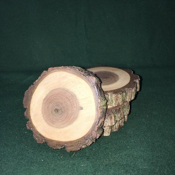 Black walnut coaster set
