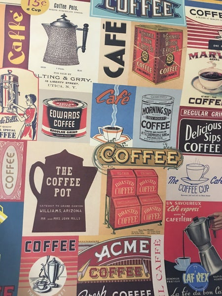 New Cavalini coffee poster
