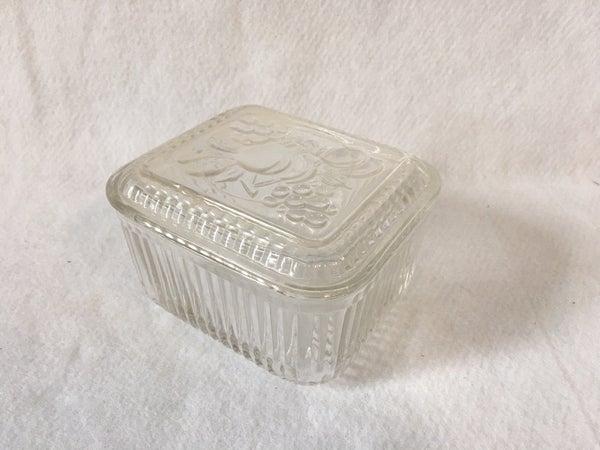 Federal rectangle refrigerator box w/lid