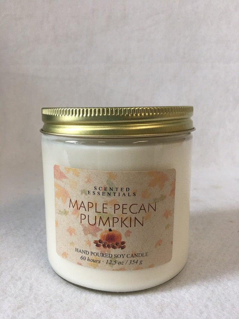 Maple Pecan Pumpkin candle