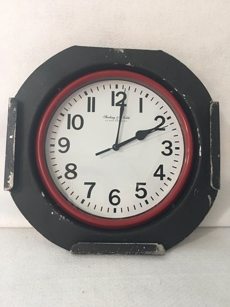 Par 64 face wall clock