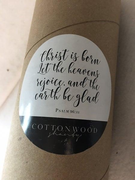 Cottonwood Shanty paper banner