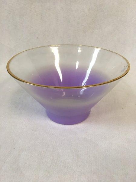 Blendo purple salad bowl