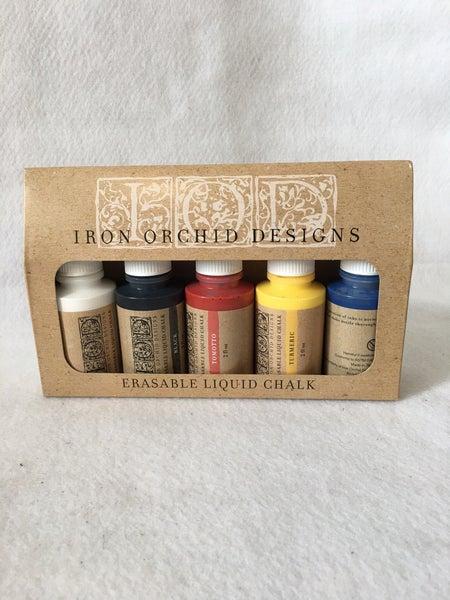 Iron Orchid Design erasable liquid chalk multi pack