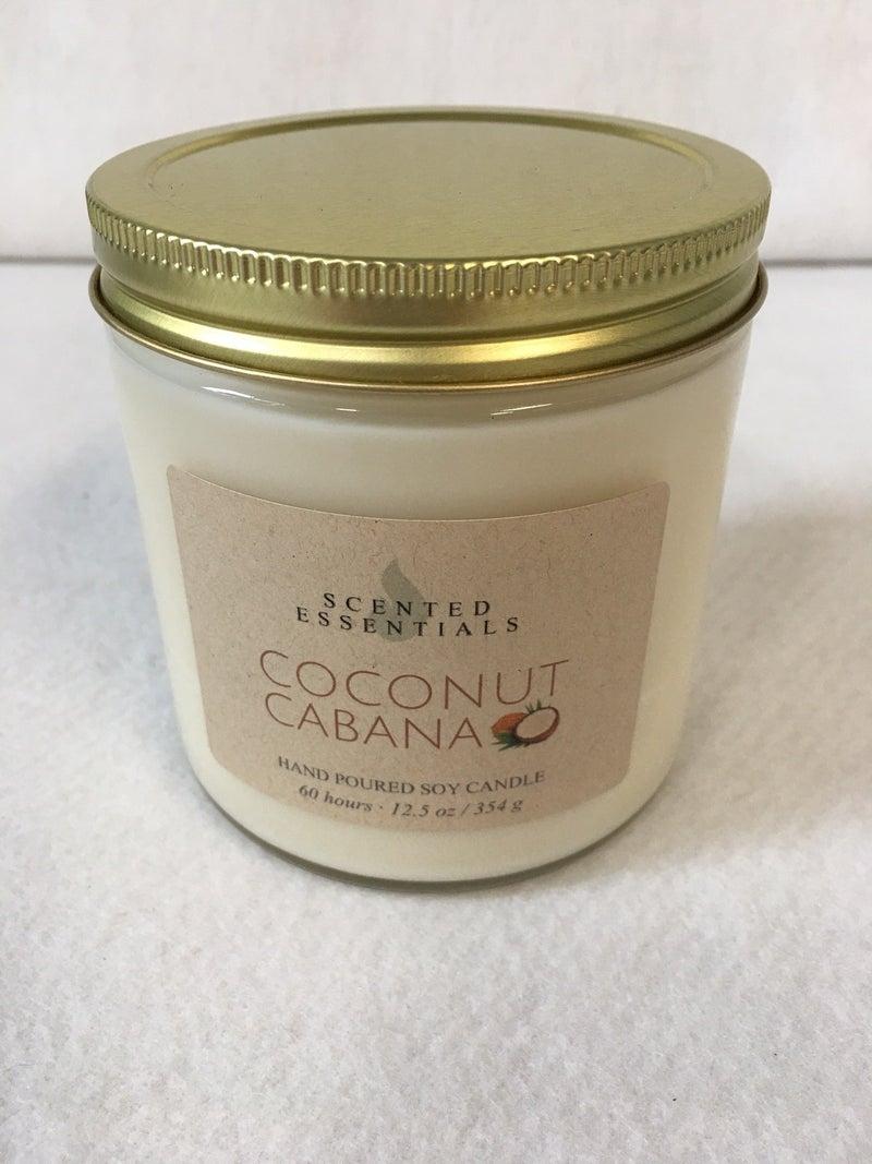 Coconut Cabana soy candle