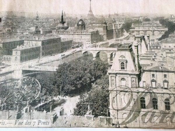 """""""Paris"""" tissue paper by Decoupage Queen"""
