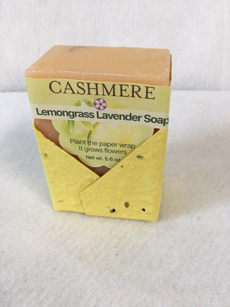 Lemongrass Lavender soap