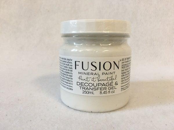 Fusion Mineral Paint Decoupage & transfer gel