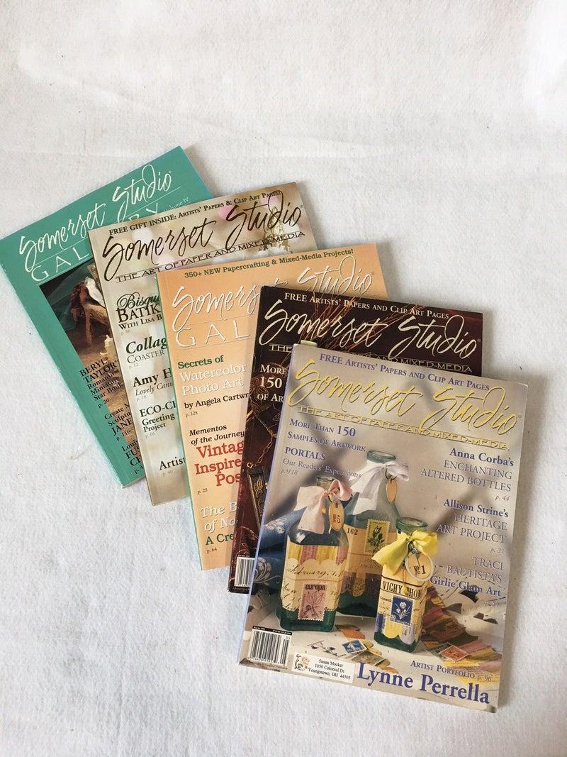 5 Somerset Studio & Gallery magazines
