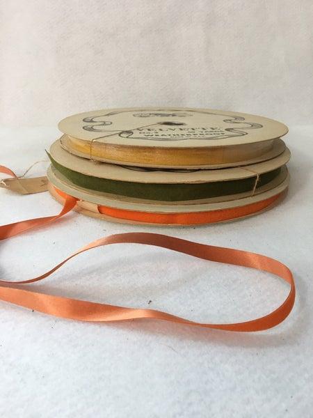 Trio of vintage ribbons