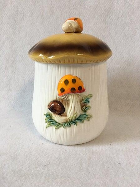 Sears & Roebuck small mushroom canister
