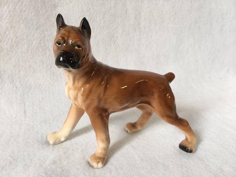 Vintage boxer figurine