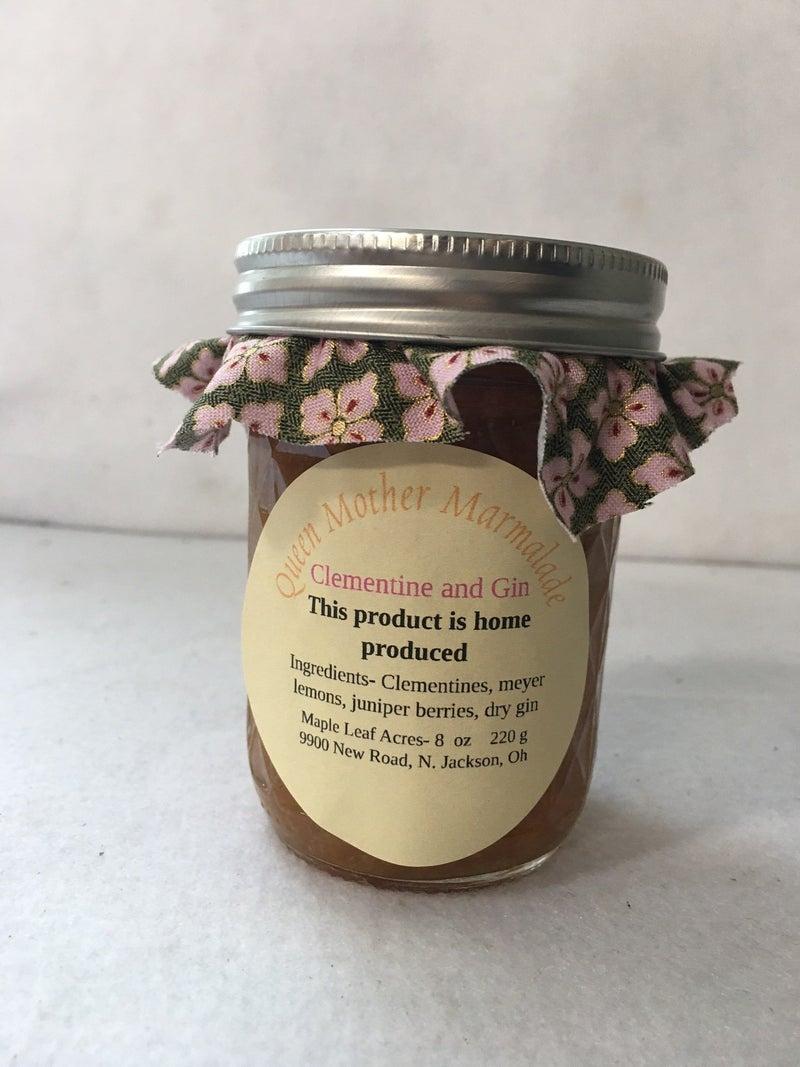Queen Mother marmalade