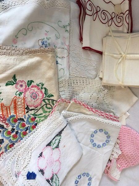 Grab bag of linens #2