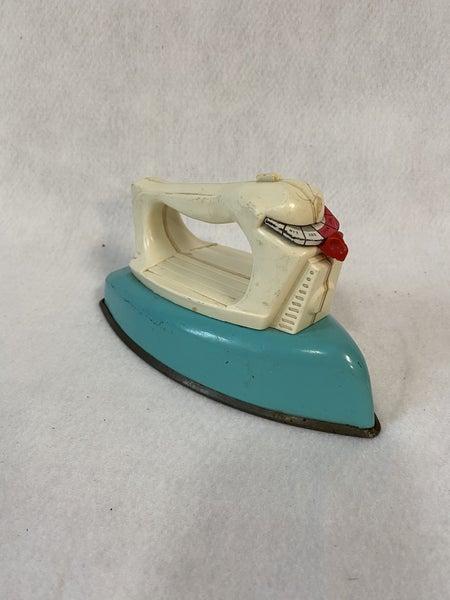 Vintage metal toy iron