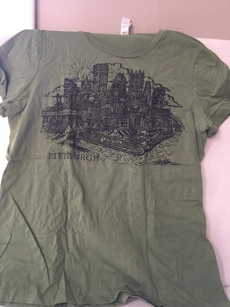 Women's Pittsburgh tee-shirt XL (new)