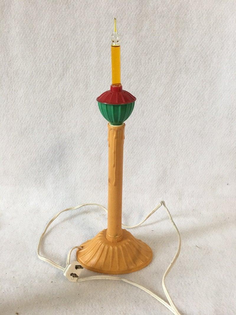 Vintage bubble light candle