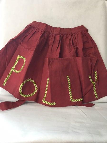 "Vintage apron ""Polly"""