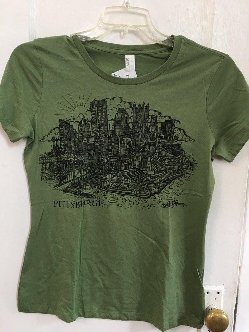 Pittsburgh tee-shirt, women's medium