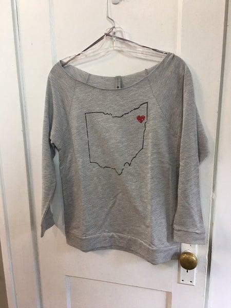 Long sleeve t-shirt w/Ohio