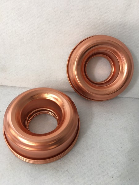 Set of 6 copper ring molds *Final Sale*