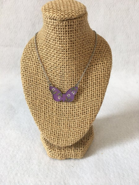 Butterfly necklace by My Beverly Jewelry
