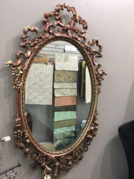 Ornate  Syroco mirror