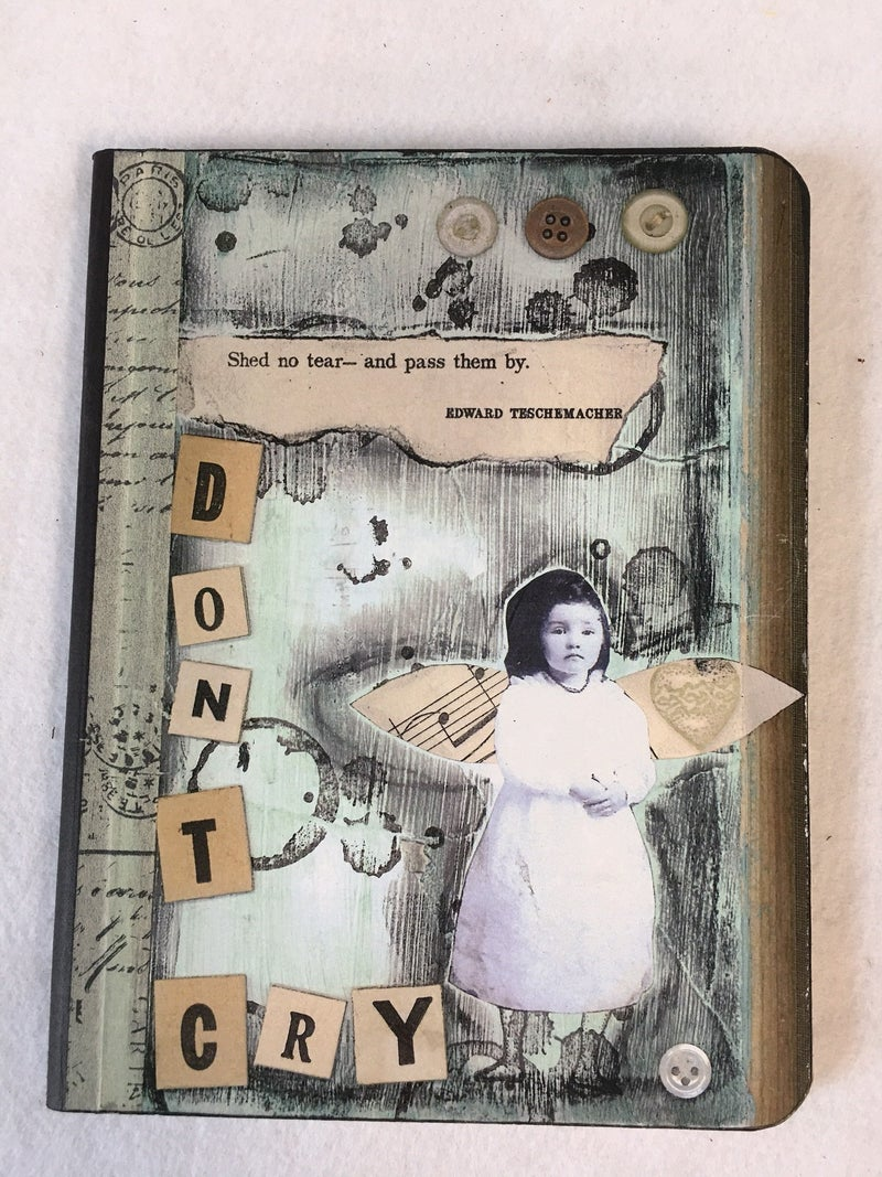 """""""Don't Cry"""" composition journal"""