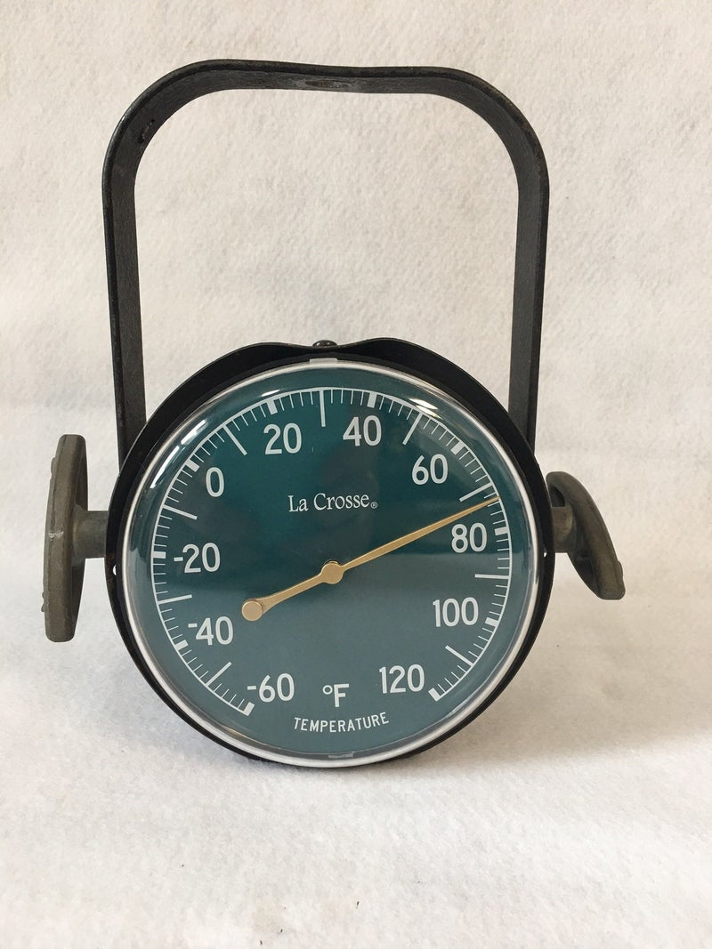 Scoop back thermometer