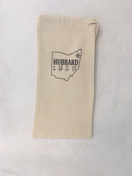 Hubbard wine bottle sleeve