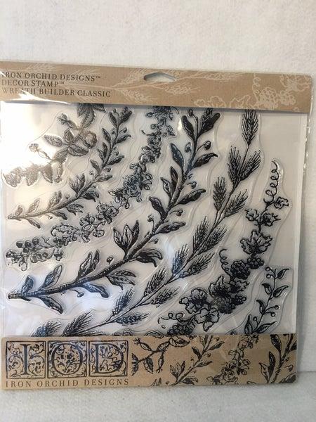 Iron Orchid Design Wreath Builder Classic stamp