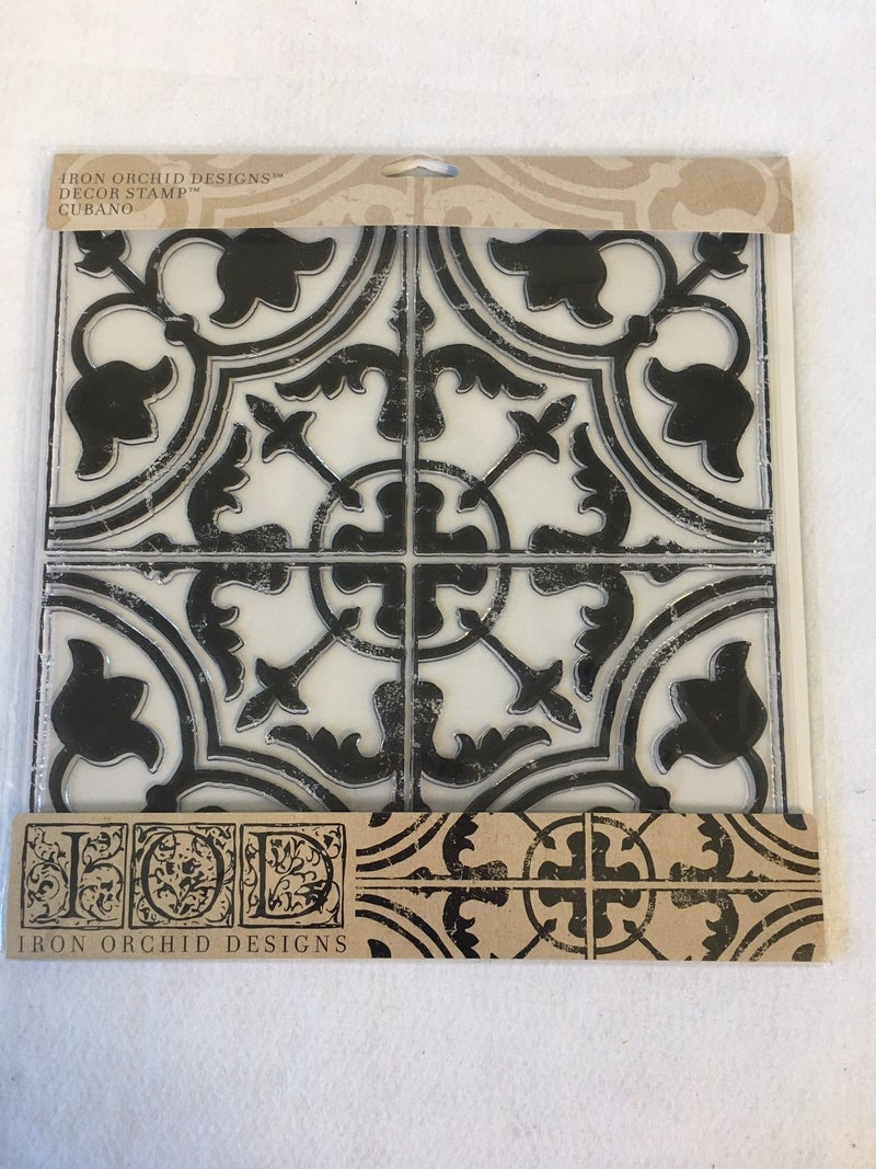 "Iron Orchid Design ""Cubano"" stamp"