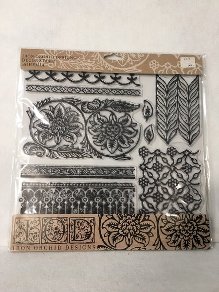 Iron Orchid Designs Bohemia stamp