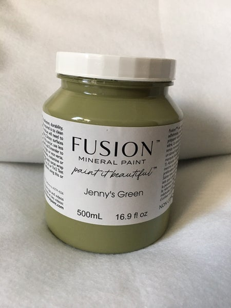 """Fusion Mineral Paint """"Jenny Green"""""""