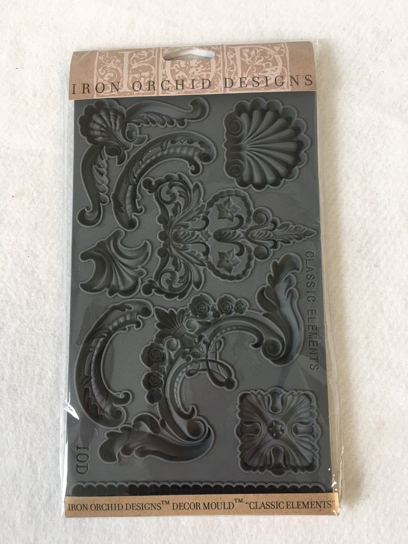 """Iron Orchid Designs """"Classic Elements"""" mould"""