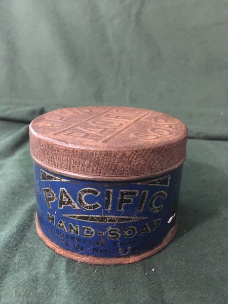Pacific hand soap tin