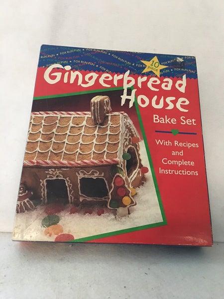 Vintage gingerbread house kit