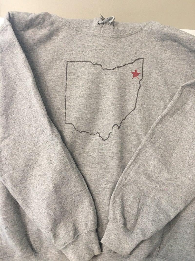 Ohio hoodie, size medium