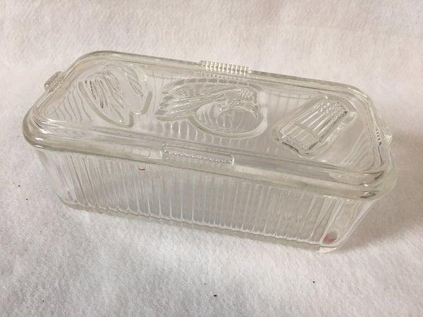 Federal Glass refrigerator container