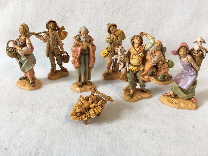 Fontinini figurines, Jesus and his cast of characters