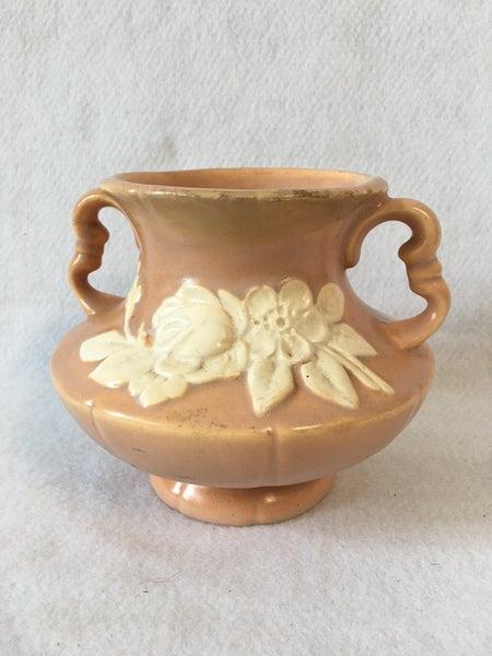 Weller Pottery Cameo Rose urn vase