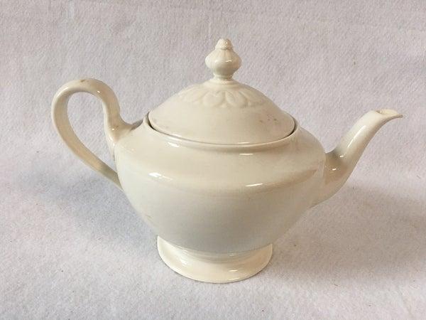 Ivory tea pot