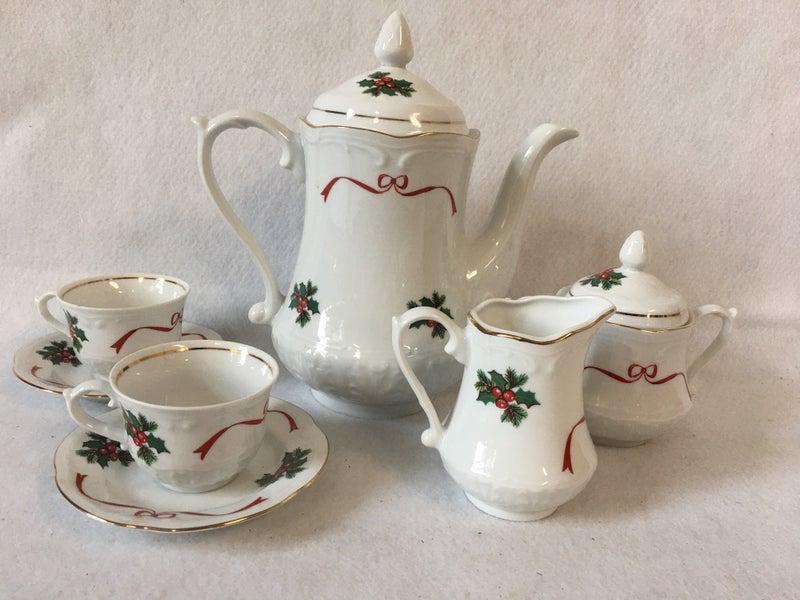 Polish tea set by Wloctawek, service for 2